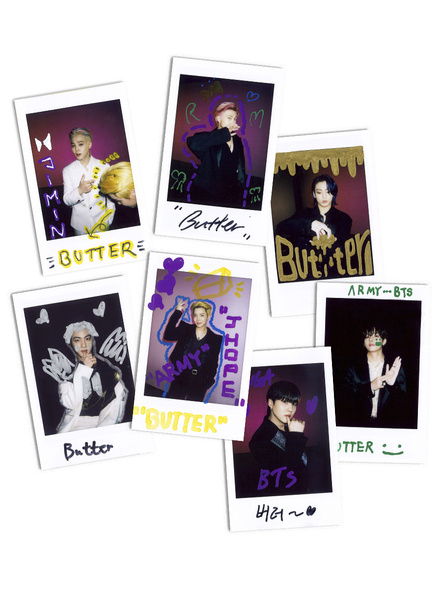 BTS Weverse Polaroids  - Butter Collection-86