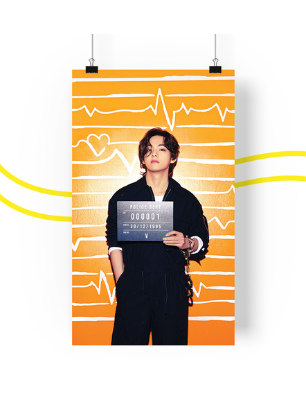 BTS Concept V.2 Posters (All Members) - Butter Collection-taev2