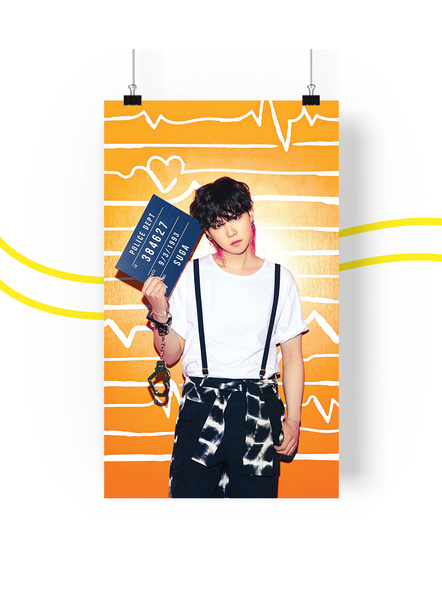 BTS Concept V.2 Posters (All Members) - Butter Collection-sugav2