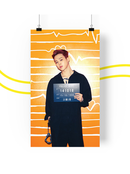 BTS Concept V.2 Posters (All Members) - Butter Collection-jiminv2
