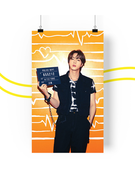 BTS Concept V.2 Posters (All Members) - Butter Collection-jinv2