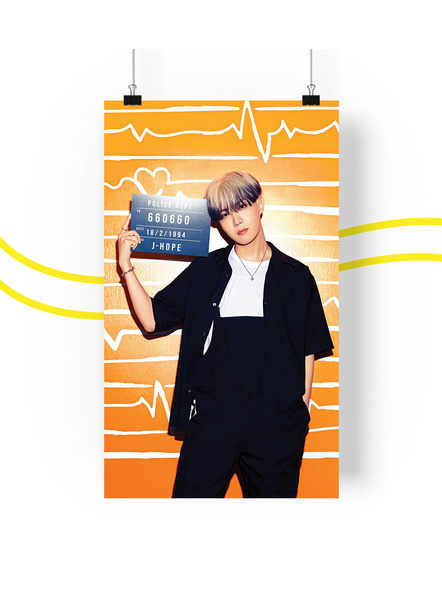 BTS Concept V.2 Posters (All Members) - Butter Collection-jhopev2