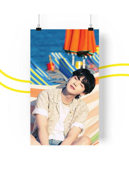 BTS Concept V.3 Posters (All Members) - Butter Collection-sugav3
