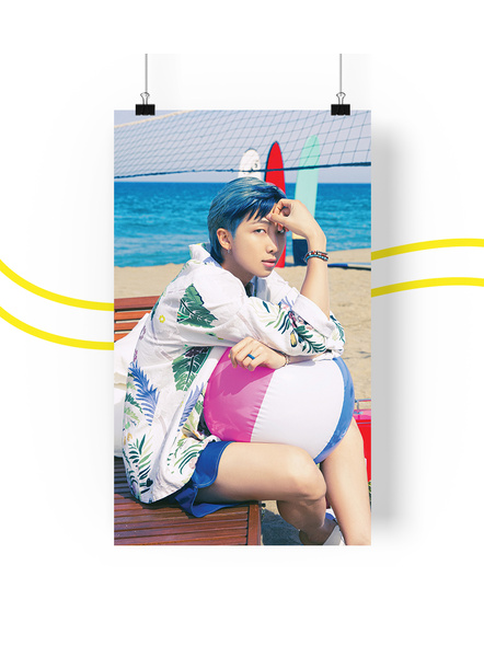 BTS Concept V.3 Posters (All Members) - Butter Collection-namjoonv3