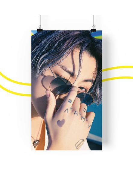 BTS Concept V.3 Posters (All Members) - Butter Collection-jkv3