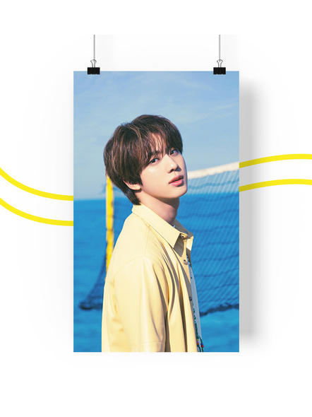 BTS Concept V.3 Posters (All Members) - Butter Collection-jinv3