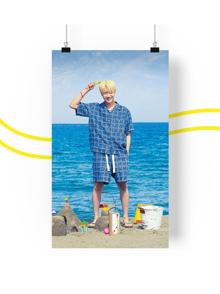 BTS Concept V.3 Posters (All Members) - Butter Collection-jhopev3