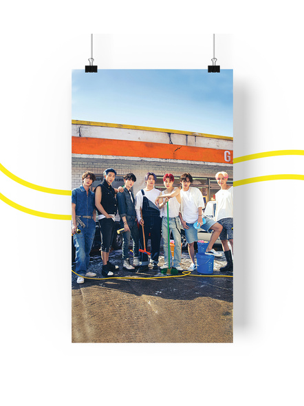 BTS Concept V.4.1 Posters (All Members) - Butter Collection-ot7v41