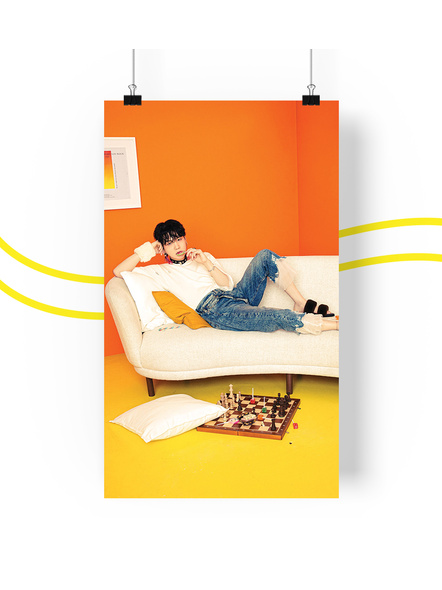 BTS Concept V.1.1 Posters (All Members) - Butter Collection-sugav11