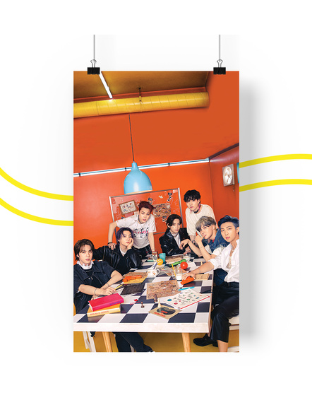BTS Concept V.1.2 Posters (All Members) - Butter Collection-ot7v12