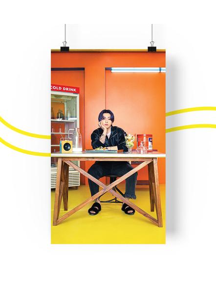 BTS Concept V.1.1 Posters (All Members) - Butter Collection-jkv11