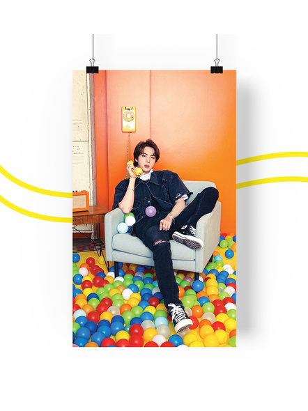 BTS Concept V.1.1 Posters (All Members) - Butter Collection-jinv11