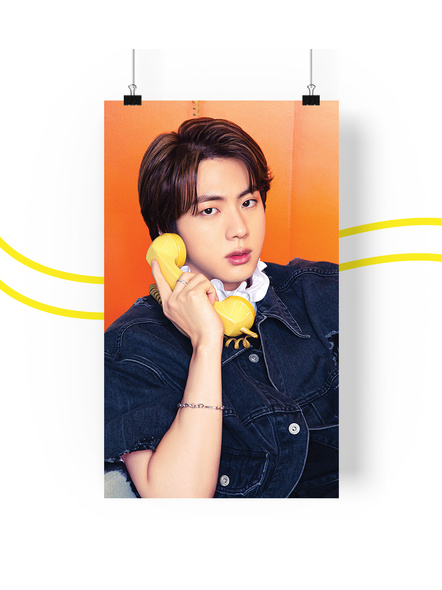 BTS Concept V.1.2 Posters (All Members) - Butter Collection-jinv12