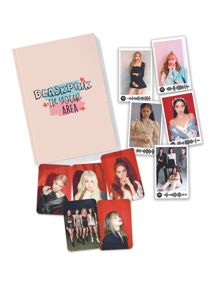 Blackpink In Your Area Notebook Combo-bpntar