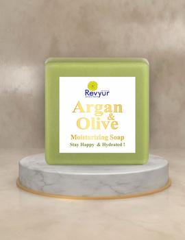 Revyur Argan & Olive Moisturizing Soap-Revyur-97-sm
