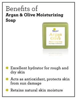 Revyur Argan & Olive Moisturizing Soap-1-sm