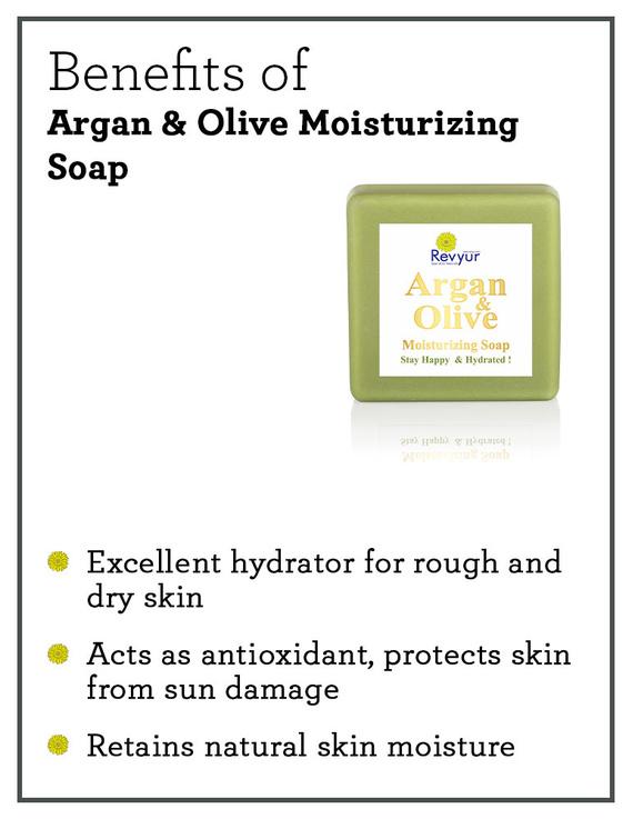 Revyur Argan & Olive Moisturizing Soap-1