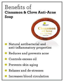 Revyur Cinnamon & Clove Anti-Acne Soap-1-sm