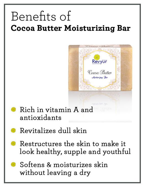 Revyur Cocoa Butter Moisturizing Soap-1