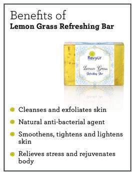 Revyur Lemon Grass Refreshing Soap-1-sm