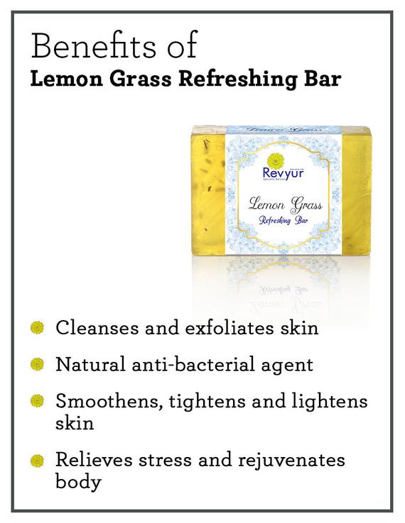 Revyur Lemon Grass Refreshing Soap-1