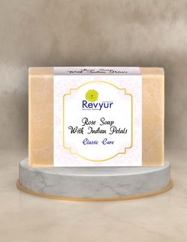 Revyur Rose Soap With Indian Petals Classic Care-Revyur-94-sm