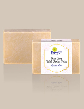 Revyur Rose Soap With Indian Petals Classic Care-2-sm