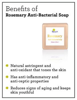 Revyur Rosemary Anti-Bacterial Soap-150 gm-1-sm