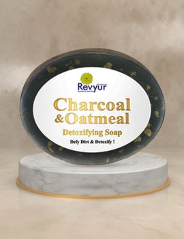 Revyur Charcoal & Oatmeal Detoxifying Soap-Revyur-100-sm