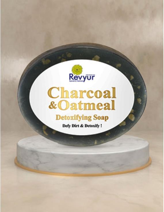 Revyur Charcoal & Oatmeal Detoxifying Soap-Revyur-100