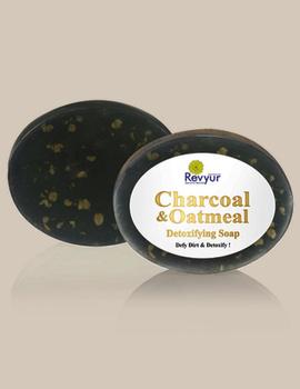 Revyur Charcoal & Oatmeal Detoxifying Soap-2-sm