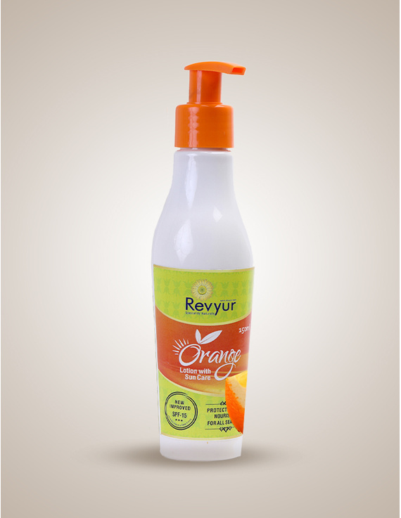 Revyur Orange Lotion With Sun Care-Revyur-18