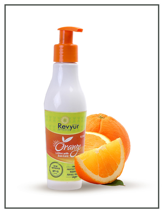 Revyur Orange Lotion With Sun Care-2