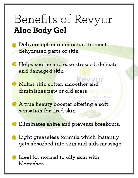 Revyur Aloe Body Gel-1 kg-1