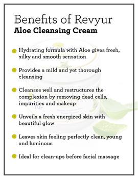 Revyur Aloe Cleansing Cream-1 kg-1-sm