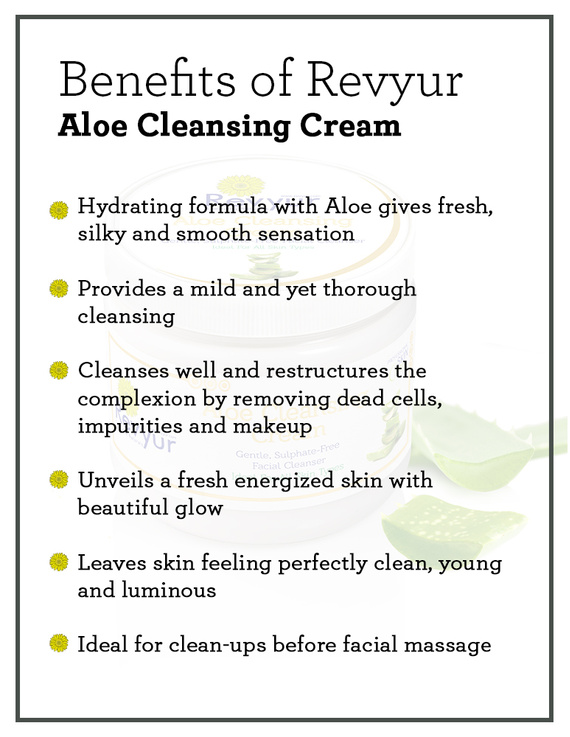 Revyur Aloe Cleansing Cream-1 kg-1