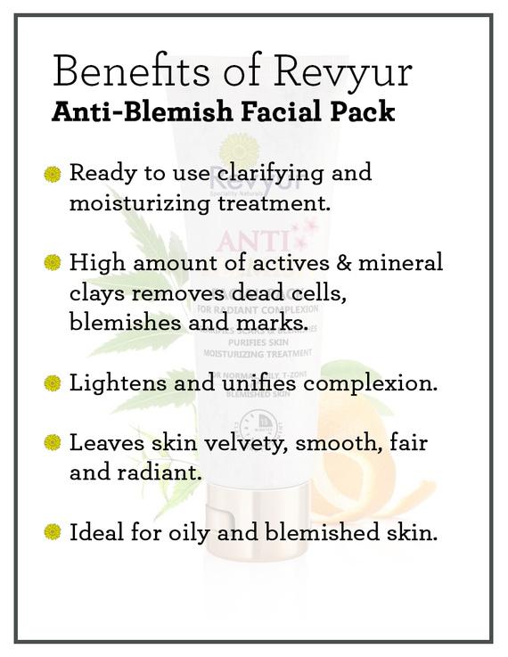 Revyur Anti-Blemish Facial Pack-1