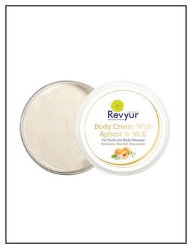 Revyur Body Cream With Apricot & Vitamin E-200 gm-2-sm