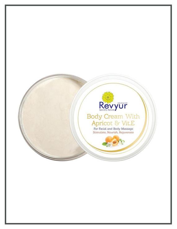 Revyur Body Cream With Apricot & Vitamin E-200 gm-2