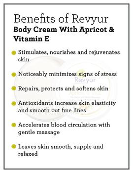 Revyur Body Cream With Apricot & Vitamin E-200 gm-1-sm