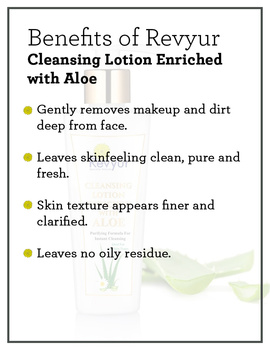 Revyur Cleansing Lotion Enriched with Aloe-2-sm