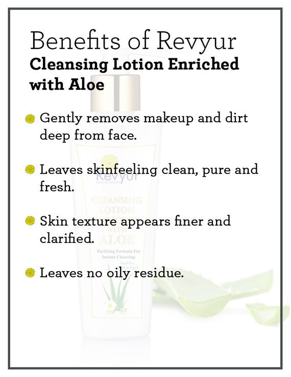 Revyur Cleansing Lotion Enriched with Aloe-2