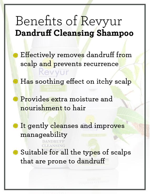 Revyur Dandruff Cleansing Shampoo-50 ml-1