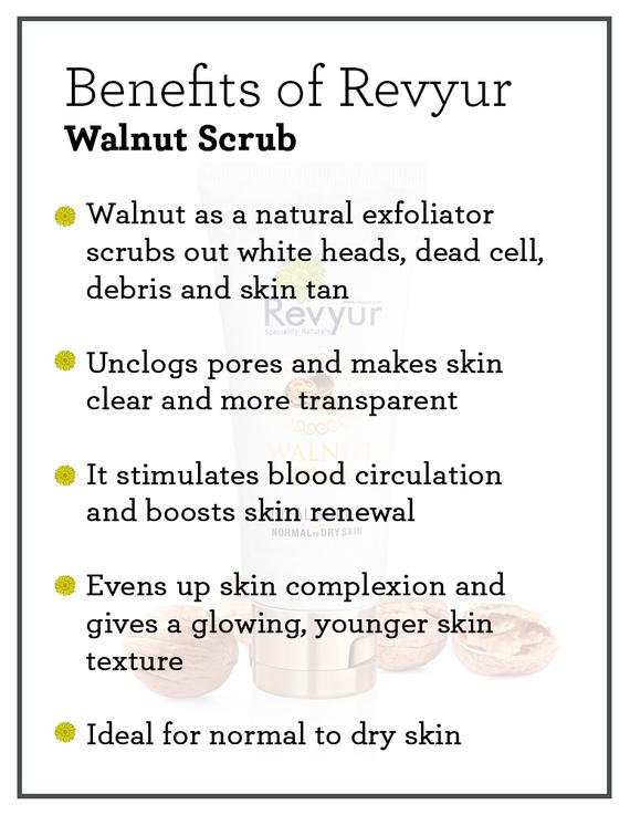 Revyur Walnut Scrub-75 gm-1