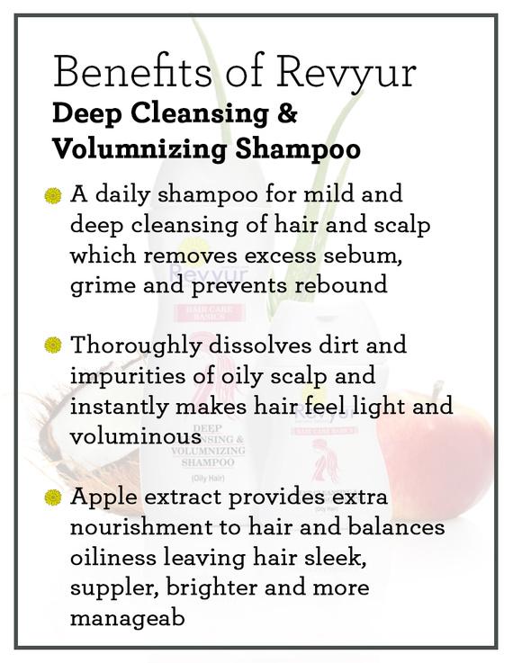 Revyur Deep Cleansing & Volumnizing Shampoo-50 ml-1