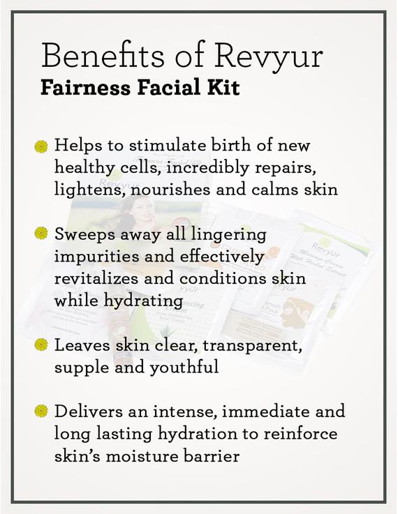Revyur Fairness Facial Kit-1