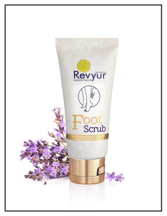 Revyur Foot Scrub With Pumice Granules & Lavender-2