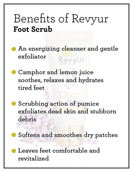 Revyur Foot Scrub With Pumice Granules & Lavender-1-sm