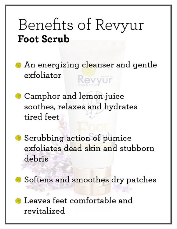 Revyur Foot Scrub With Pumice Granules & Lavender-1