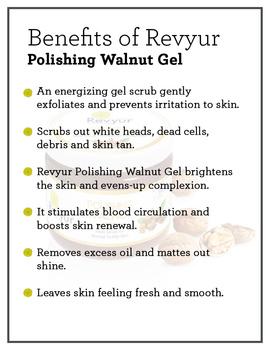 Revyur Polishing Walnut Gel-500 gm-2-sm